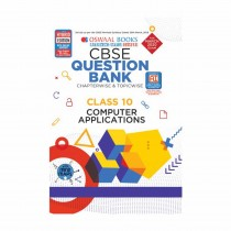 Oswaal Books CBSE Question Bank Class 10 Computer applications book Chapterwise & Topicwise (For March 2019 Exam)
