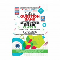 Oswaal Books CBSE Question Bank Class 9 English Language and Literature Chapterwise & Topicwise (For March 2020 Exam)