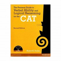 Pearson Publication The Pearson Guide to Verbal Ability and Logical Reasoning For CAT (with CD) 2nd Edi By Nishit Sinha