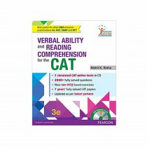 Pearson Publication Verbal Ability And Reading Comprehension For The CAT 3rd Edi By Sinha