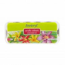 Pidilite Fabric Sunflower Kit 150ml (10 Shades of 15ml)