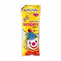 Pidilite Rangeela Tempara Colours 18ml (6 Shades of 3ml) Pack of 5