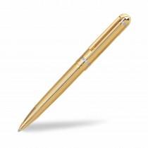Pierre Cardin Crown Bright Gold Ball Pen