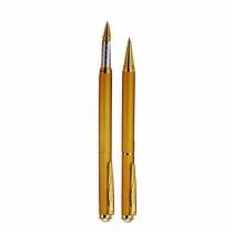 Pierre Cardin Pearl Satin Gold Pen Set