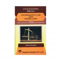 Pragati Books Co-Operative Law & Other Laws For GDC&A By Kulkarni