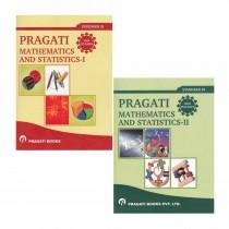 Pragati Books Mathematics & Statistics I & II - Pragati For Class 11 By Ghatpande