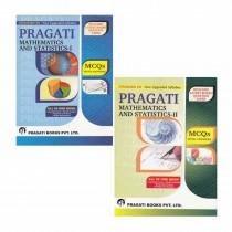 Pragati Books Maths & Stats Part 1 & 2 MCQ Class 12