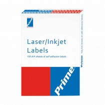Prime Inkjet Label (100 A4 Sheets)