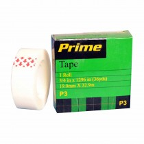 Prime Invisible Tape 32.9 m (Pack of 3)