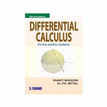 S Chand Publication Differential Calculus By Shanti Narayan