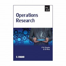S Chand Publication Operations Research By Hira, Gupta