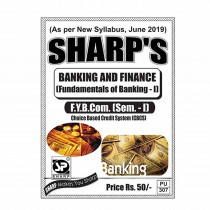 Sharp Publication Banking And Finance For FY BCom