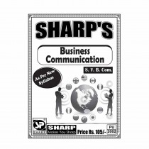 Sharp Publication Business Communication For SY BCom