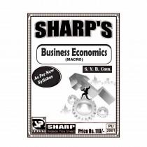 Sharp Publication Business Economics (Macro) For SY BCom