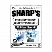 Sharp Publication Business Environment & Entrepreneurship For FY BCom
