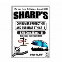 Sharp Publication Consumer Protection & Business Ethics For FY BCom