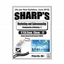 Sharp Publication Marketing And Salesmanship For FY BCom