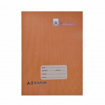 Sudarshan Plus A5 Brown Note Book Soft Cover (Pack of 6)