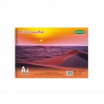 Sundaram Spiral Artist Book 100 Pages (Pack of 3)