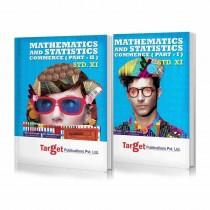 Target Publications Mathematics 1 & 2 (Commerce) For Class 11