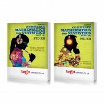 Target Publications Mathematics 1 & 2 (Commerce) For Class 12