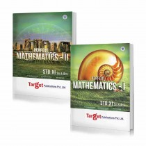 Target Publications Mathematics 1 & 2 (Science) For Class 11