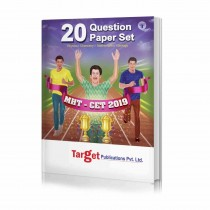 Target Publications MHT-CET 20 Question Papers Set (Physics Chemistry Biology And Mathematics)