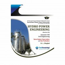 Techknowledge Publication Hydropower Engineering by Singhal For Civil Engineering Sem 8