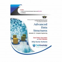 Techknowledge Publications Advanced Data Structures by Sultania For Computer Science Engineering Sem 4