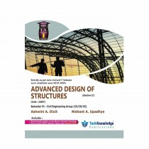 Techknowledge Publications Advanced Design of Structures by Dixit For Civil Engineering Sem 6