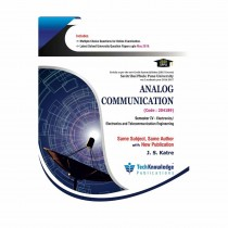 Techknowledge Publications Analog Communication by Katre For E&TC Engineering Sem 4