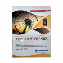 Techknowledge Publications Applied Mechanics by Dixit For Civil Engineering Sem 2