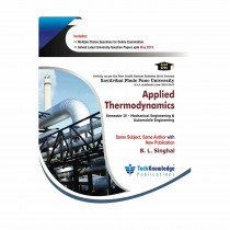 Techknowledge Publications Applied Thermodynamics by Singhal For Mechanical Engineering Sem 4