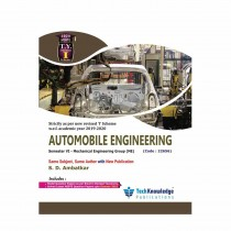 Techknowledge Publications Automobile Engineering by Ambatkar For Mechanical Engineering Sem 6