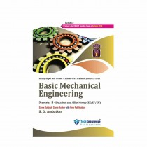 Techknowledge Publications Basic Mechanical Engineering by Ambatkar For Electrical Engineering Sem 2