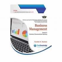 Techknowledge Publications Business Management by Gautam For E&TC Engineering Sem 6