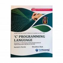 Techknowledge Publications C Programming Language by Narula For E&TC Engineering Sem 2
