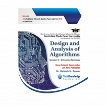 Techknowledge Publications Design & Analysis of Algorithms by Goyani For Information Technology Engineering Sem 6