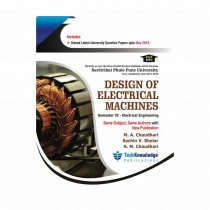 Techknowledge Publications Design of Electrical Machines by Chaudhari For Electrical Engineering Sem 6