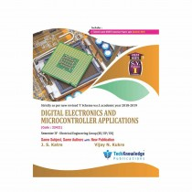 Techknowledge Publications Digital Electronics & Microcontroller Applications by Katre For Electrical Engineering Sem 4
