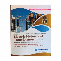 Techknowledge Publications Electric Motors & Transformers by Katre For Electrical Engineering Sem 4
