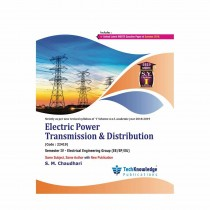 Techknowledge Publications Electric Power Transmission & Distribution by Chaudhari For Electrical Engineering Sem 4
