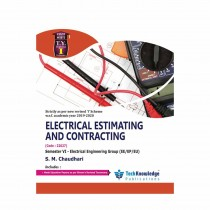 Techknowledge Publications Electrical Estimating & Contracting by Chaudhari For Electrical Engineering Sem 6