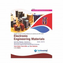 Techknowledge Publications Electronic Engineering Materials by Katre For E&TC Engineering Sem 2