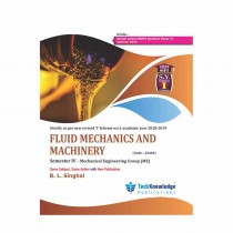 Techknowledge Publications Fluide Mechanics & Machinery by Singhal For Mechanical Engineering Sem 4
