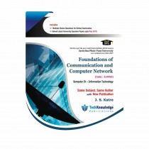 Techknowledge Publications Foundation of Communication & Computer Network by Katre For Information Technology Engineering Sem 4