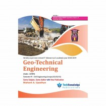 Techknowledge Publications Geotechnical Engineering by Upadhye For Civil Engineering Sem 4