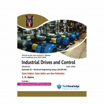 Techknowledge Publications Industrial Drives & Control by Katre For Electrical Engineering Sem 6