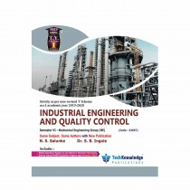 Techknowledge Publications Industrial Engineering & Quality Control by Salunke For Mechanical Engineering Sem 6