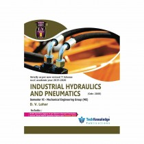 Techknowledge Publications Industrial Hydraulics & Pneumatics by Lohar For Mechanical Engineering Sem 6